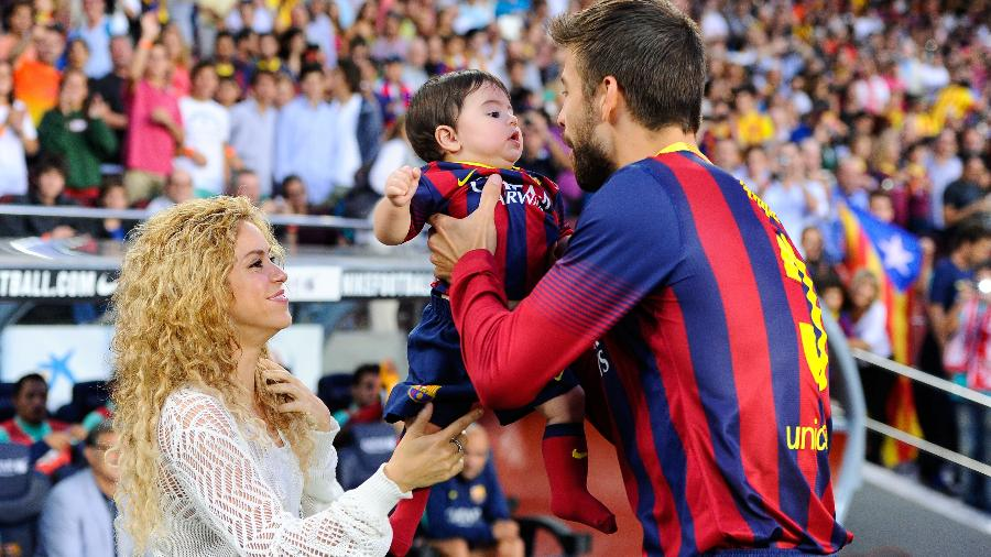 Shakira e Gerard Piqué  - David Ramos/Getty Images