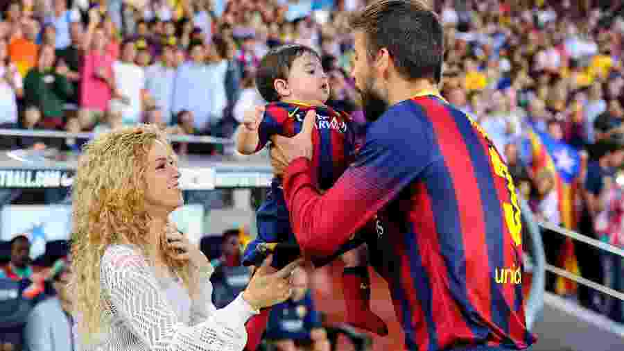 Shakira e Gerard Piqué  - David Ramos/Getty Images