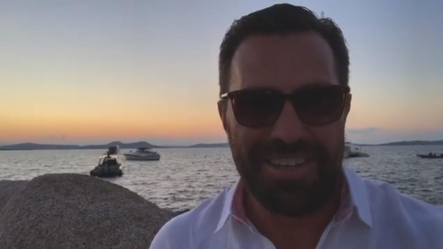 Rodrigo Bocardi reaparece no Instagram para avisar que suas férias acabaram - Reprodução/Instagram