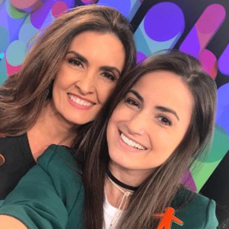 Fátima Bernardes e Mari Palma - Reprodução/Instagram