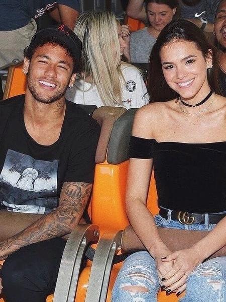 Neymar e Bruna Marquezine formaram um dos casais mais polêmicos dos últimos tempos - Reprodução/Instagram
