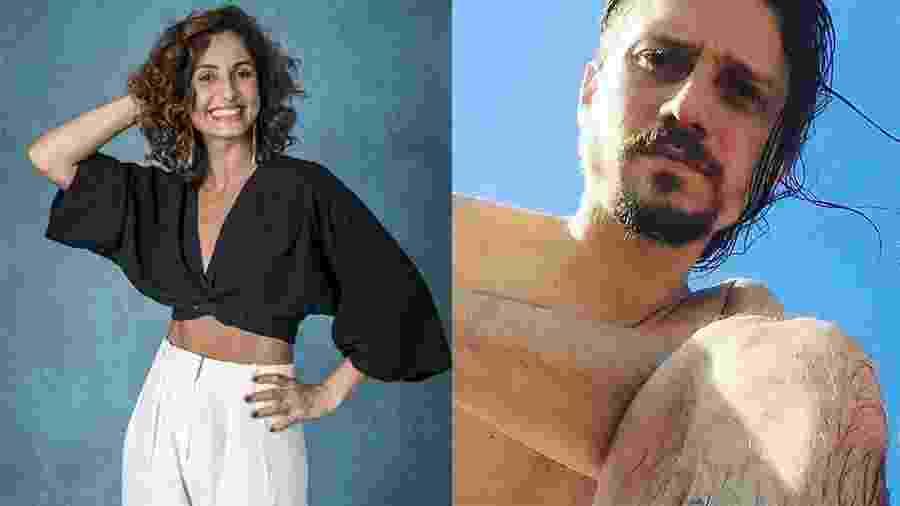 Camila Pitanga está namorando o músico Rafael Rocha - Paulo Belote/Globo e Reprodução/Instagram