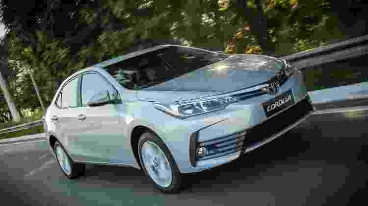 Toyota Corolla 2018 - Divulgação - Divulgação