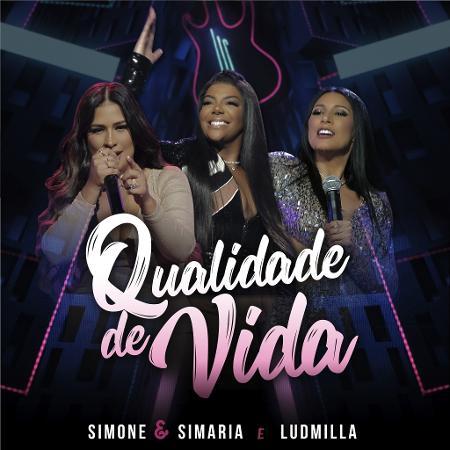 """Parceria com Ludmilla, """"Qualidade de Vida"""" é uma das apostas da dupla Simone & Simaria para o Carnaval 2019 - Divulgação"""