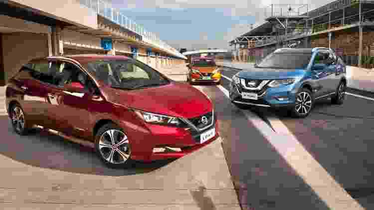 Nissan elétrico - Divulgação - Divulgação