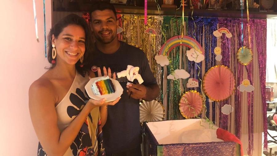 Joanna Maranhão e o marido Luciano Correa - Reprodução/Twitter