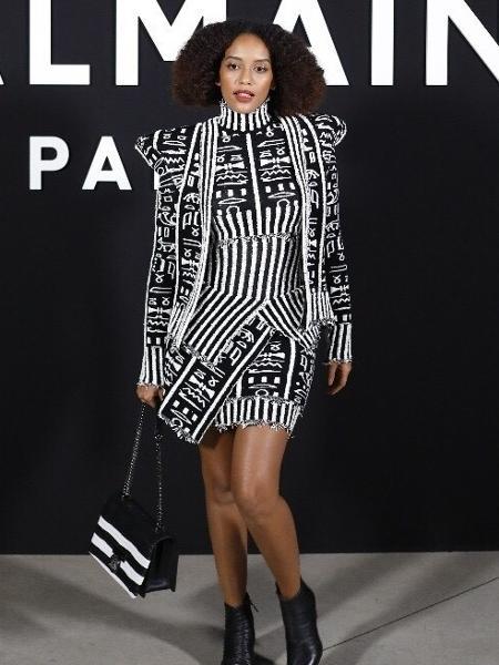 Taís Araújo na Paris Fashion Week - Iude Richele/Divulgação