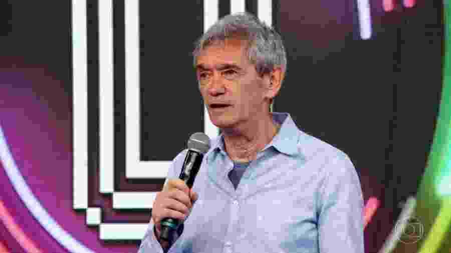 """Serginho Groisman participa do """"Domingão do Faustão"""" - Reprodução/TV Globo"""