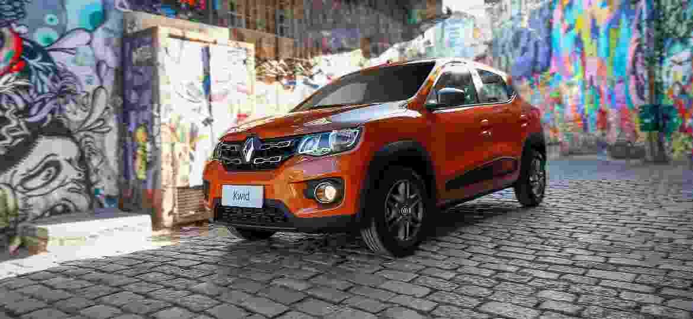 Renault Kwid foi destaque do mês, em 5º no ranking geral, com 23.981 unidades - Divulgação