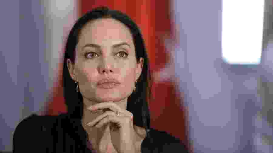 """Trabalhando em dois filmes, Angelina Jolie manifestou vontade de atuar em """"Star Wars"""" - AFP"""