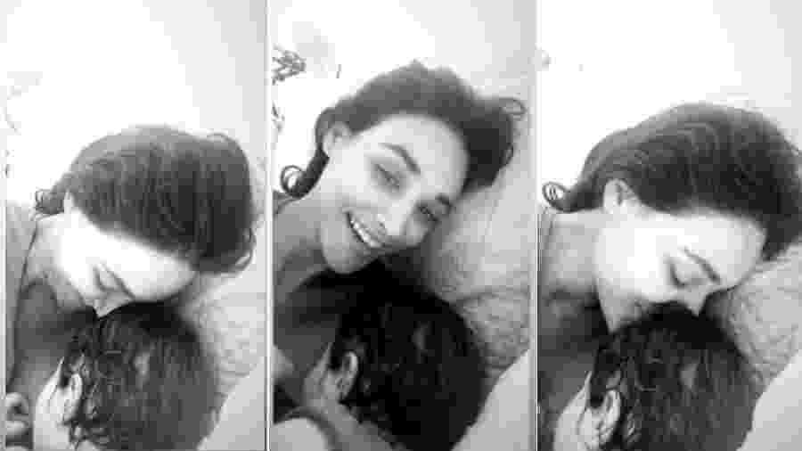 Débora Nascimento amamenta a filha, Bella - Reprodução/Instagram