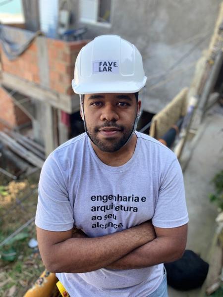 Fábio Moraes fez engenharia com o propósito de levar reformas para comunidades do Rio - João Victor Teodoro/Divulgação