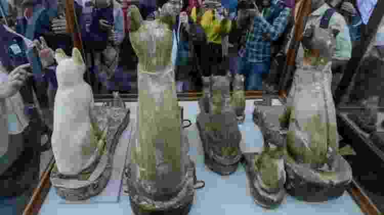 A exposição tem atraído muitos turistas e moradores locais - Reprodução/Reuters