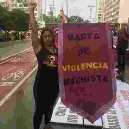 Marcela Azevedo, porta-voz do coletivo Mulheres em Luta - Nathália Geraldo/Universa - Nathália Geraldo/Universa