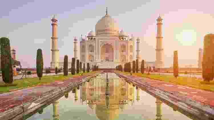 Mais de 200 mil turistas cancelaram ou adiaram visitas ao Taj Mahal - Getty Images - Getty Images