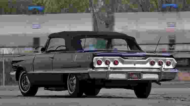 Bryant também gostava de carros antigos, como este Chevrolet Impala - Reprodução
