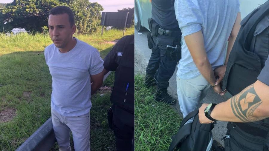 Caso aconteceu na linha 409, em São Gonçalo; em nota, a Marinha informou que está apurando os fatos relatados pela vítima - Reprodução/Facebook