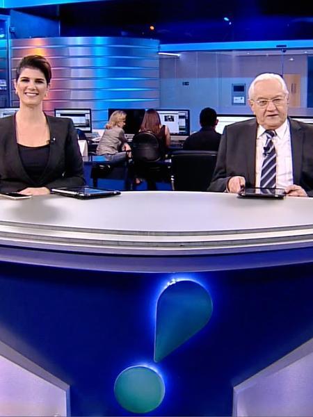 Mariana Godoy e Boris Casoy comandam Rede TV News - Divulgação RedeTV!