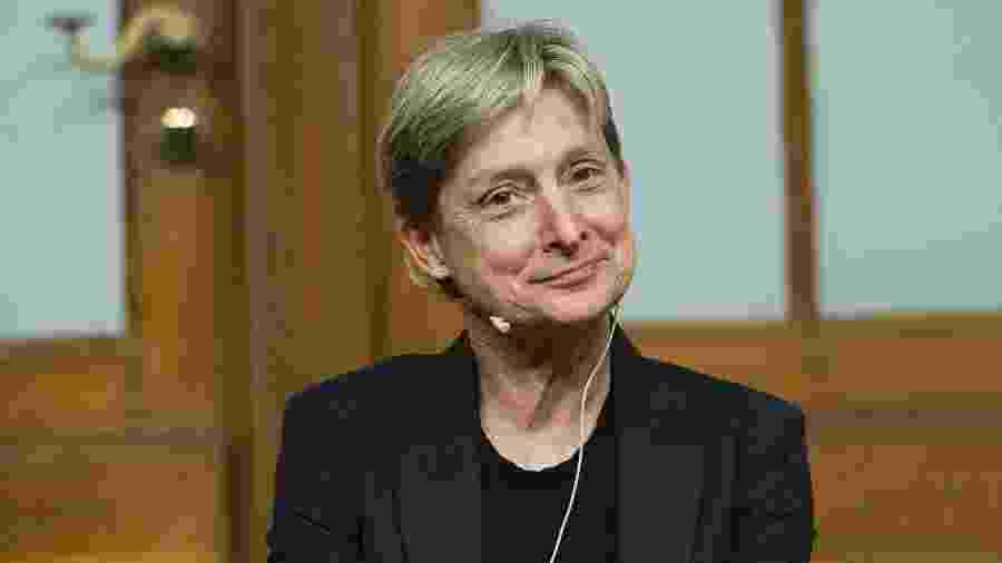A filósofa e professora americana Judith Butler - Target Presse Agentur Gmbh/Getty Images