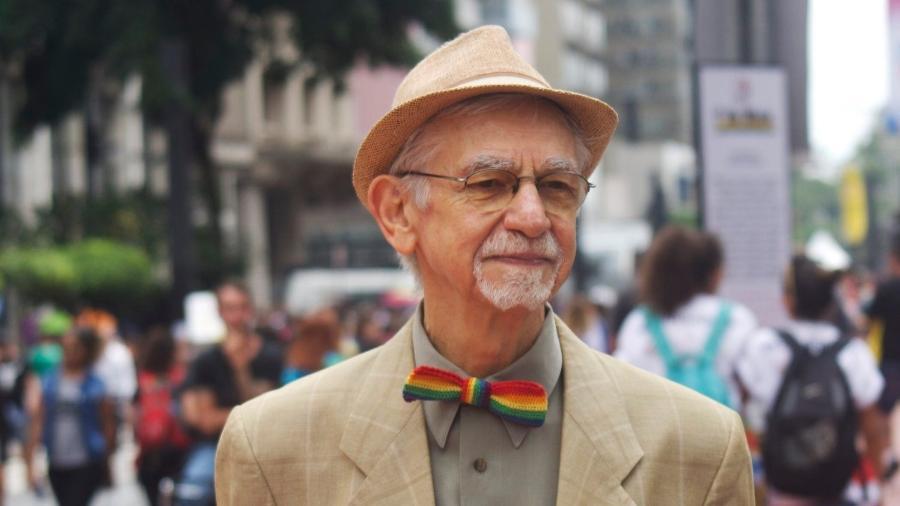 Autor de um dos livros mais emblemáticos sobre a história da população LGBT no país, João Silvério Trevisan prepara novo livro em que trata de masculinidade e homofobia - Reprodução/Facebook