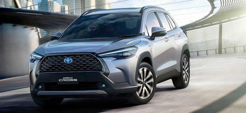 Toyota Corolla Cross 2021 - Divulgação