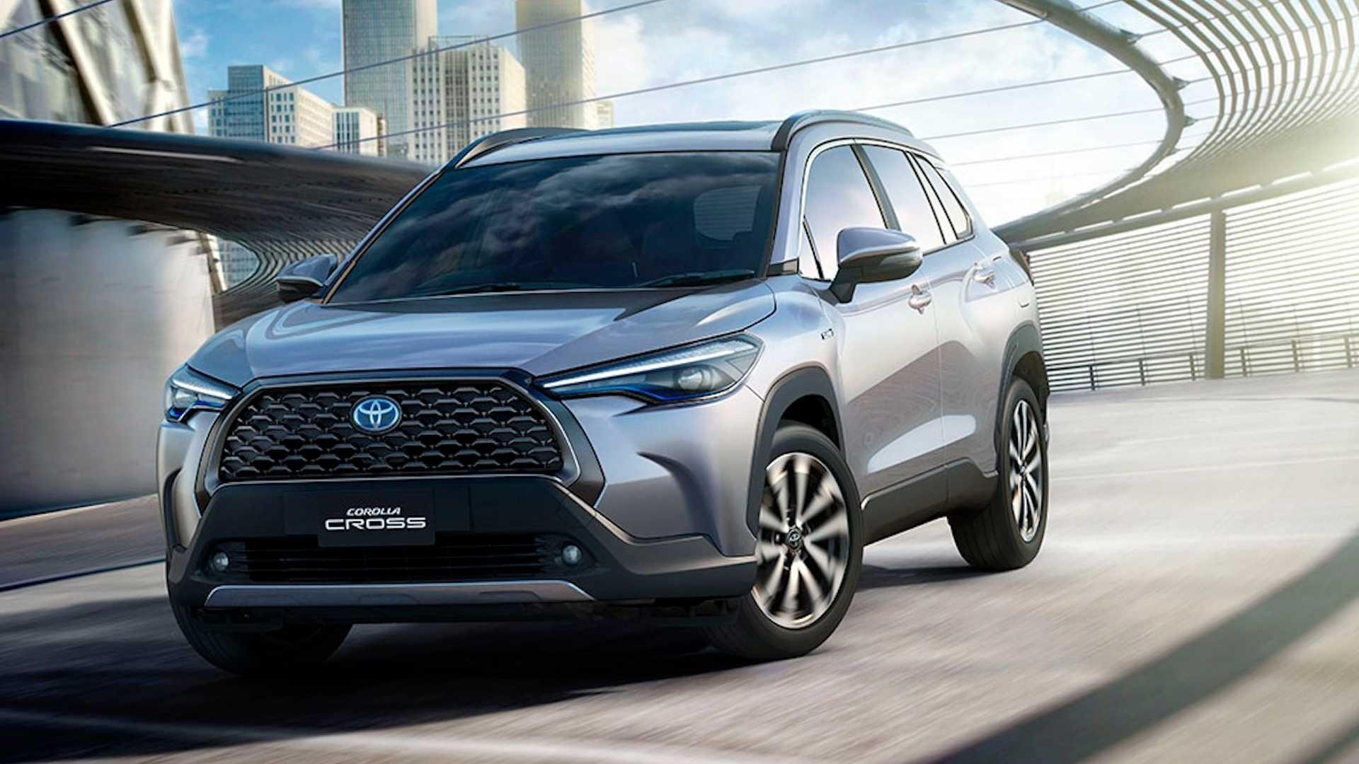 Toyota Revela Corolla Cross Suv Deve Ser Fabricado No Brasil Em 2021