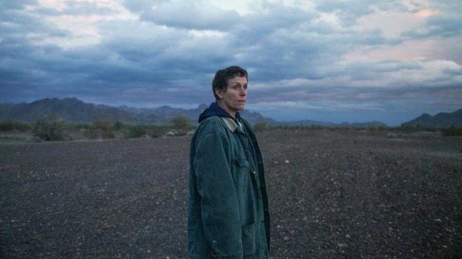 """Frances McDormand em cena de """"Nomadland"""": favorito ao Oscar 2021 - Reprodução/IMDb"""