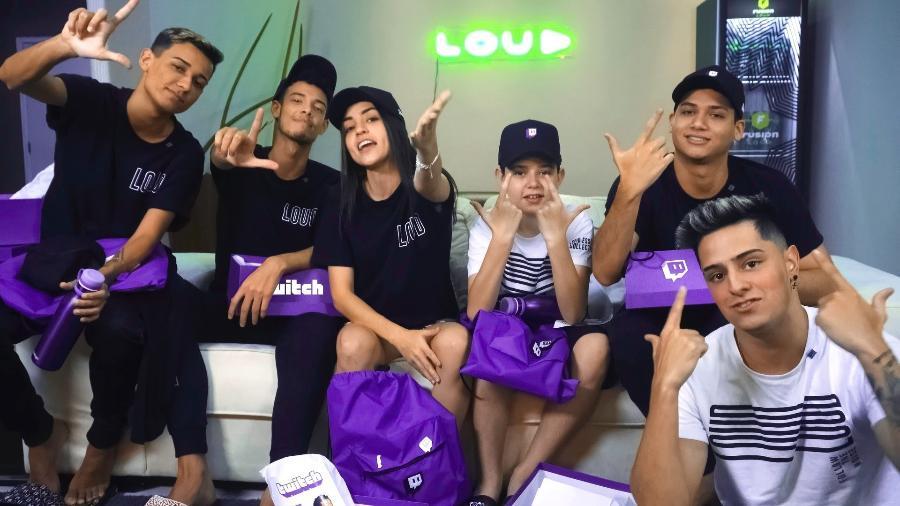 Influenciadores e pro-players da LOUD agora fazem lives na Twitch - Divulgação/LOUD