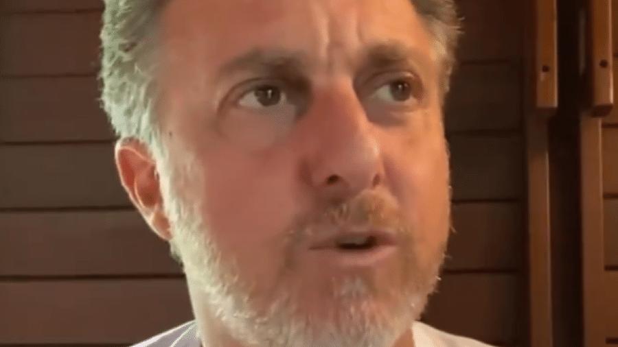 Luciano Huck critica Bolsonaro por ataque a jornalista da Globo - Reprodução/Twitter
