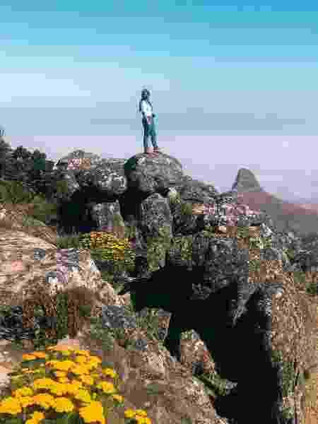 Table Mountain, na Cidade do Cabo - Arquivo pessoal - Arquivo pessoal
