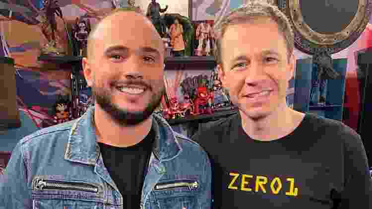 Ed Gama e Tiago Leifertt estarão no Domingão - Reprodução Globo - Reprodução Globo