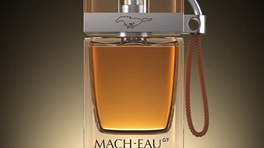 Perfume Mach-Eau da Ford - Divulgação