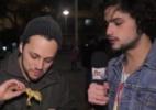 Da galinhada ao rabo de galo: Mohamad prova comidas na Virada Cultural - Reprodução/UOL