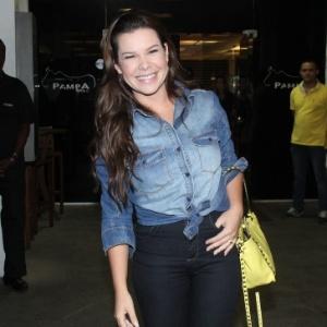 """Fernanda Souza poderá assumir o """"Vídeo Show"""" depois de novela - Thyago Andrade e Graça Paes/ Foto Rio News"""