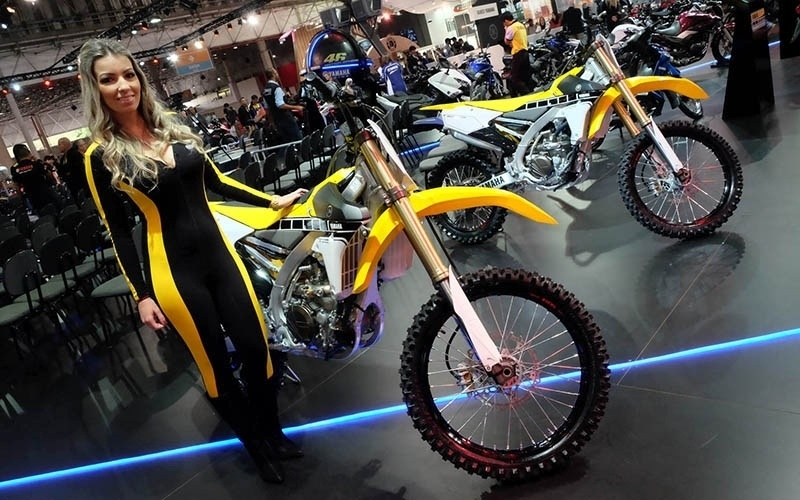 Yamaha YZ 250F e YZ 450F Cross 60 Anos