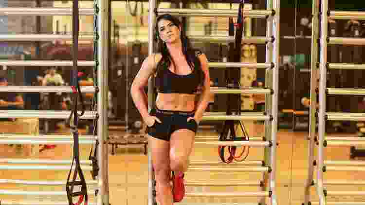 Graciele tem rotina de treinos balanceando com a alimentação - Iwi Onodera/UOL - Iwi Onodera/UOL