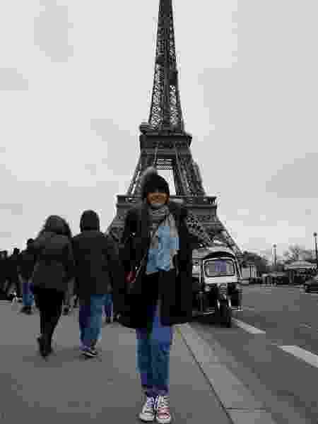 Maisa Silva posa em frente à Torre Eiffel, em Paris - Reprodução/Instagram/maisa