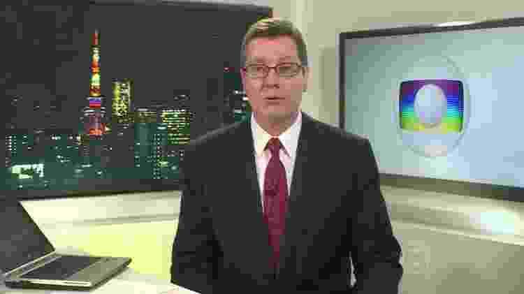 Correspondente da Globo no Japão anuncia volta ao Brasil após cinco anos - Reprodução/TV Globo - Reprodução/TV Globo
