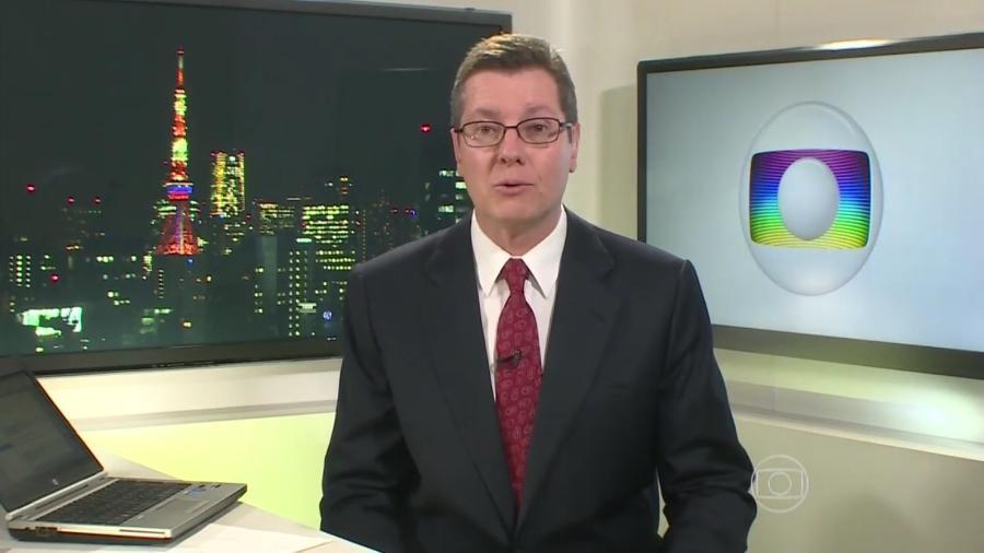 Márcio Gomes é correspondente da Globo no Japão desde 2013 - Reprodução/TV Globo