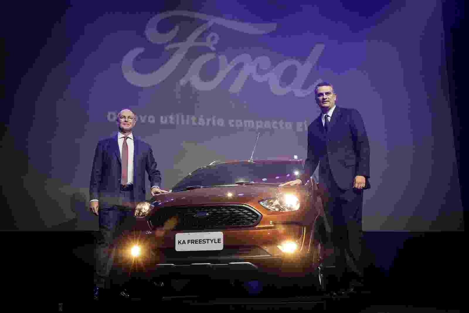Ford Ka Freestyle - Divulgação