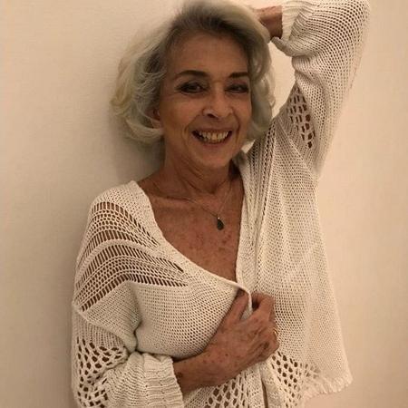Betty Faria assume os cabelos brancos - Reprodução/Instagram/@bettyfariaoficial