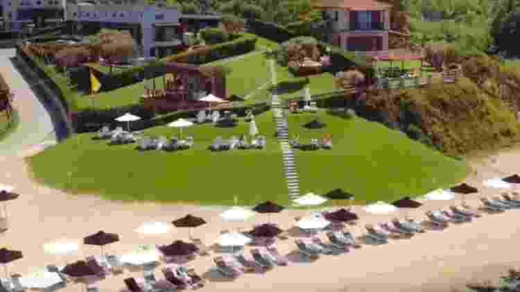Resort luxuoso na Grécia é um dos presentinhos que os indicados ao Oscar vão ganhar - Reprodução - Reprodução