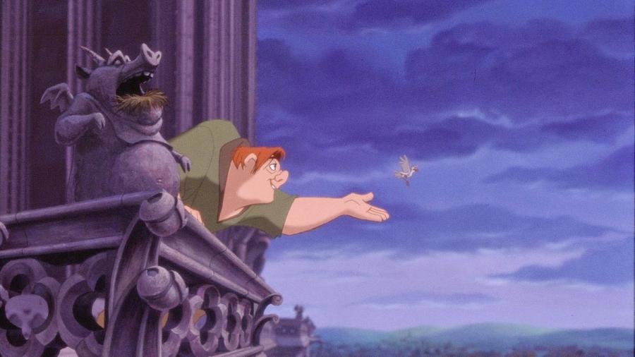 """Cena da animação """"O Corcunda de Notre Dame"""" - Reprodução"""