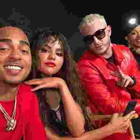 Selena Gomez mostra imagem dos bastidores do clipe do novo single de DJ Snake - Reprodução/Instagram - Reprodução/Instagram