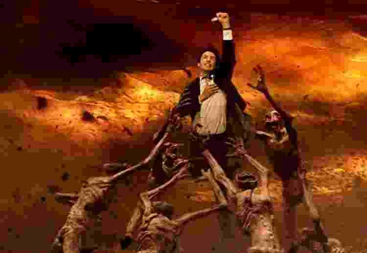 Keanu Reeves em 'Constantine' (2005) - Divulgação - Divulgação
