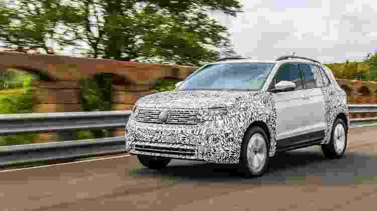 Ainda sob camuflagem, SUV já está sendo testado no Brasil  - Divulgação