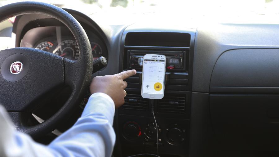 Uber identificará automaticamente possíveis paradas longas e inesperadas na rota - Robson Ventura/Folhapress