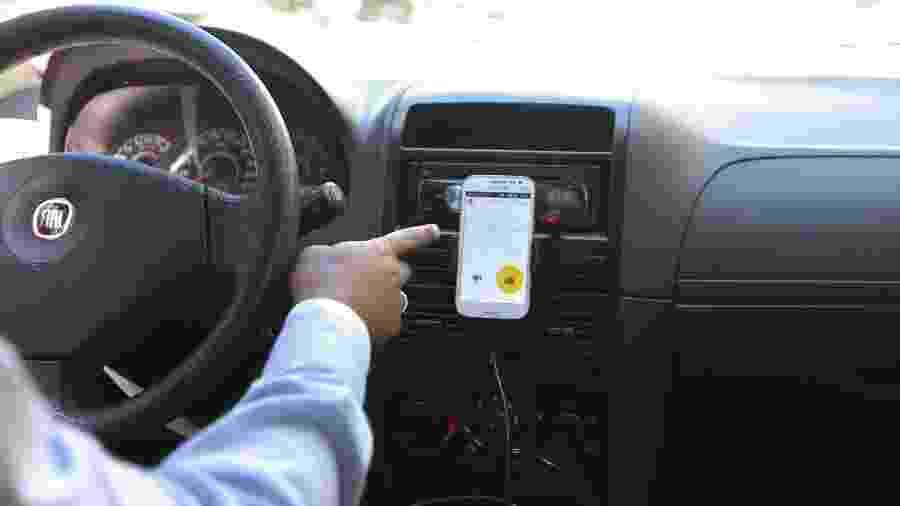 Sistema de notas para motoristas da Uber é item de curiosidade de muita gente - Robson Ventura/Folhapress