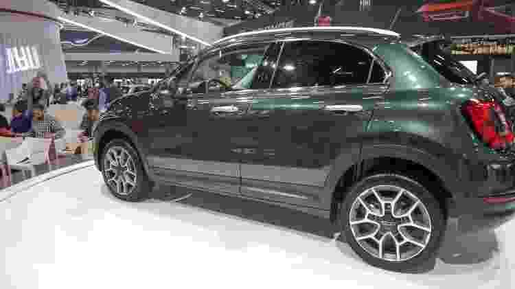 Unidade em exposição no SP Expo já traz facelift de meia-vida do 500X -  Leco Viana/Thenews2/Folhapress