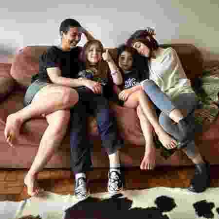 Da direita para esquerda: Carmem, Benjamin, Valentina e Fernanda dividem apartamento no centro de SP - Arquivo pessoal